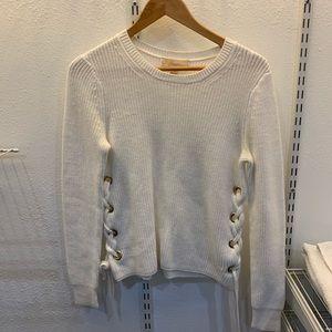 White Michael Kors Sweater